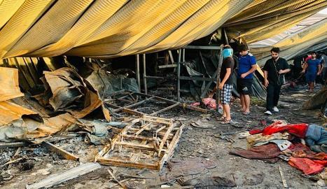 L'incendi va matar almenys 92 persones a l'hospital.