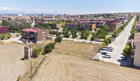 La zona de la Fonteta on es preveuen 230 habitatges.