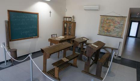 La mostra pot visitar-se a la seu del consistori de municipi, a la Curullada.