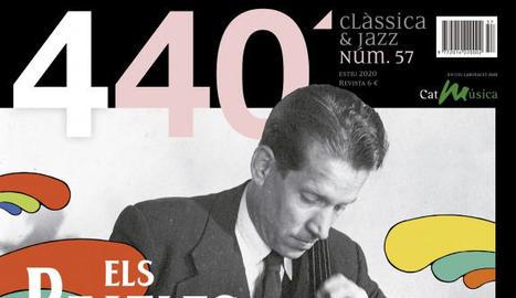 Caràtula de 'Yesterday' al costat de la portada de la revista '440' explicant la història de Gabarró.