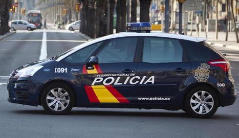 Cotxe Policia Nacional