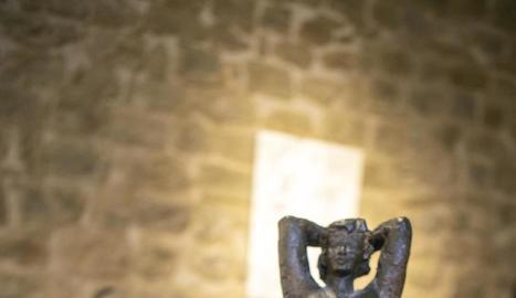Una obra de l'exposició, de l'artista Miquel Gascón.