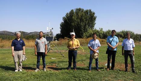 Imatge de representants d'alguns dels organismes que participen en el projecte.