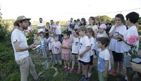 Imatge d'una activitat del 'Benvinguts a Pagès' del 2019.