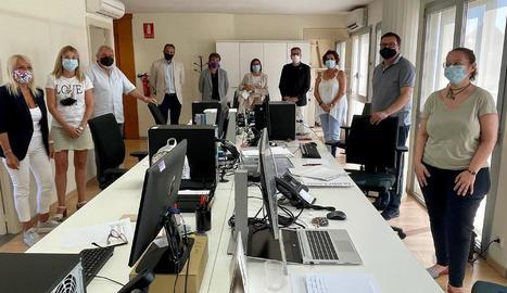El personal de GlobaLleida s'instal·la a les dependències de la