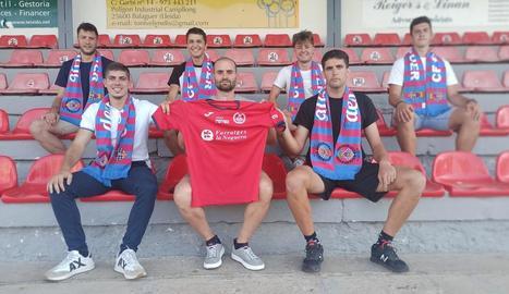 El Balaguer anuncia els sis primers jugadors que renoven