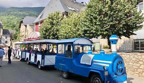 La sortida del trenet serà des de l'avinguda Pas d'Arró.