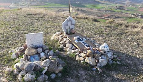 Imatge d'arxiu de tombes d'animals a Alguaire.