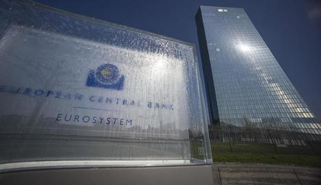 Seu del Banc Central Europeu a la localitat alemanya de Frankfurt.