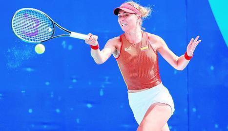 Paula Badosa va superar la primera ronda.