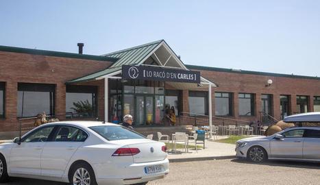 El restaurant Lo Racó d'en Carles, a Fonolleres, on es va produir un dels assalts.