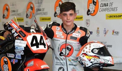 Mor el pilot de 14 anys Hugo Millán en un accident a MotorLand