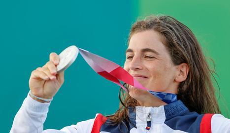 Maialen Chourraut, medalla de plata en k1