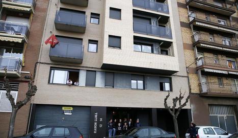 L'últim bloc que va adquirir la Paeria de Balaguer per destinar-lo al lloguer social.