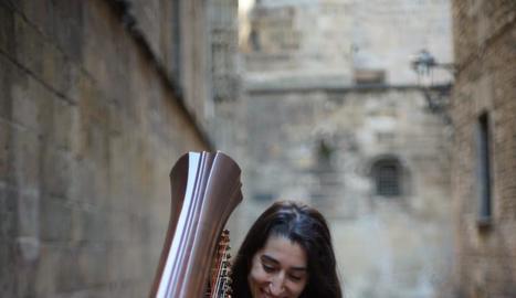 Berta Puigdemasa oferirà un nou recital del cicle 'EntreArpes'.