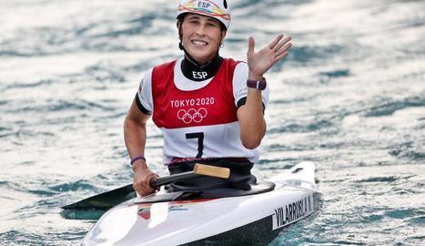 Núria Vilarrubla aconsegueix diploma olímpic a Tòquio