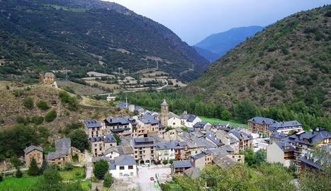Imatge d'arxiu de la població de Rialp, al Pallars Sobirà.