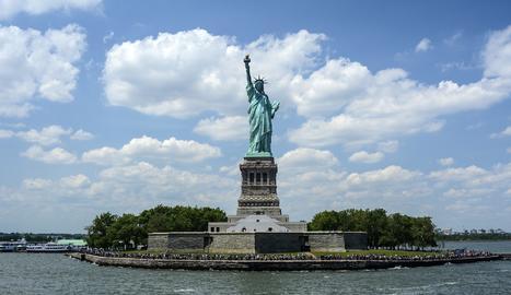 L'Estàtua de la Llibertat és un dels tresors afectats