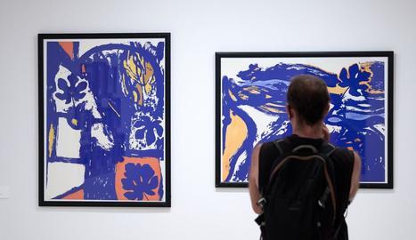 'Univers Guinovart' és el títol de l'exposició que acull des d'avui l'Espai Thyssen.