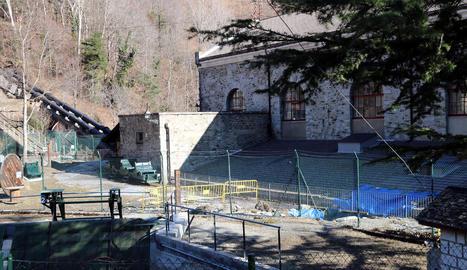 La central de Capdella, a la Vall Fosca, en una imatge d'arxiu.
