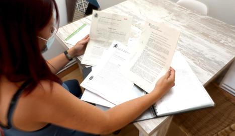 La mestra de Balaguer que va denunciar el robatori de la identitat per ser víctima d'una estafa.