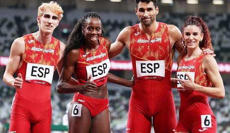 Or per a Barega - L'etíop Selemon Barega va guanyar l'or a la primera prova, els 10.000.