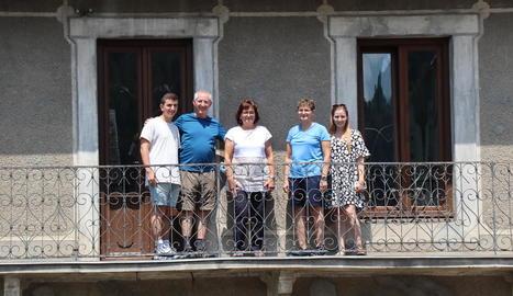 El Còth de Bedurt, un dels paratges que va visitar la família israeliana.