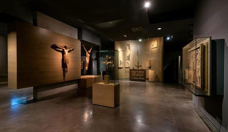 El Museu de Lleida, amb la remodelada exposició permanent.