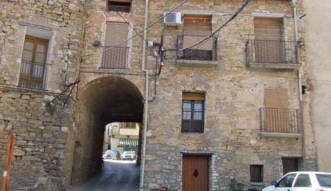 Imatge d'arxiu del nucli de Figuerola d'Orcau.