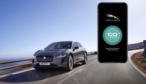 Jaguar acaba de llançar a Espanya una aplicació intel·ligent per ajudar qualsevol conductor a descobrir com seria la seua vida si fos el propietari de l'elèctric pur I-Pace.