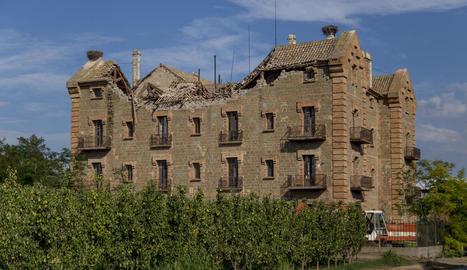 La Casa Gran de la Sucrera de Menàrguens.