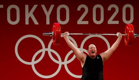 Laurel Hubbard, la primera atleta trans en disputar unes Olimpíades