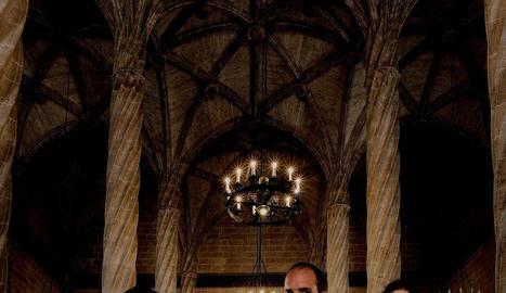 El trio Valencia Baryton Project actuarà avui a la Seu d'Urgell.