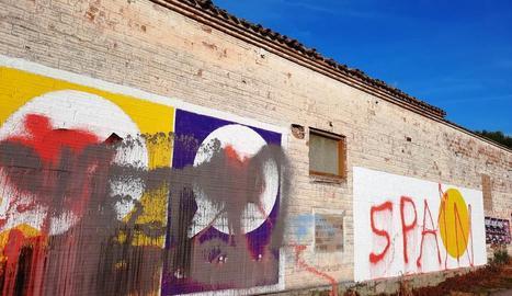 Un dels murals malmesos.