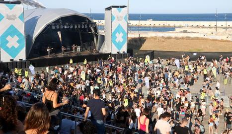 Una vista del festival Cruïlla