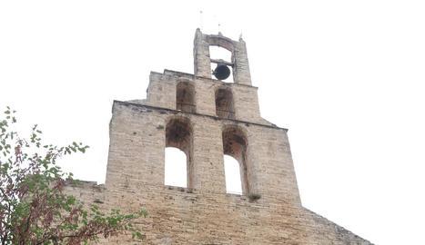 L'església de Santa Maria dels Turers de Banyoles.