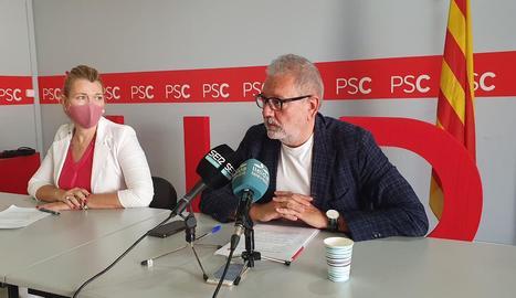 Larrosa convida la resta de l'oposició a la Paeria a presentar una moció conjunta per aturar l'alberg de Pardinyes