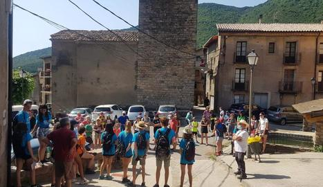 Joves creen una ruta sobre les llegendes a Sarroca de Bellera