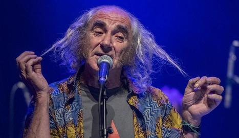 El cantant Pau Riba.