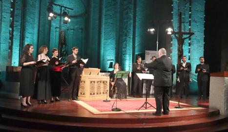 El grup Ensemble Brudieu va obrir el festival el mes de juliol.