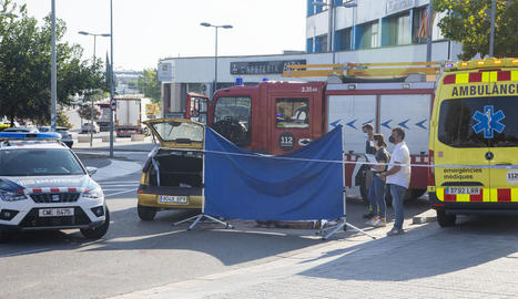 Mor una una noia de 19 anys en un accident a Tàrrega