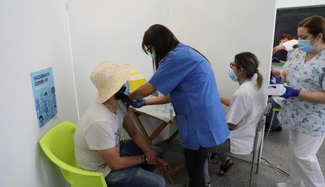 La vacunació d'agricultors i temporers, tant empleats al camp com en centrals, ha sigut la clau de l'èxit de la campanya.