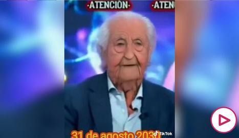 Josep Pedrerol a TikTok.