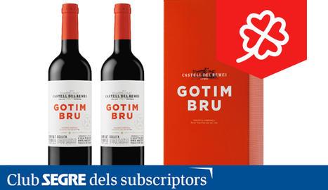 El vi negre Gotim Bru de Castell del Remei es produeix a partir de les varietats Garnatxa, Ull de Llebre, Syrah i Cabernet Sauvignon.