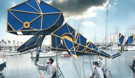La balena Kujira del Centre de Titelles de Lleida arribarà el dia 10 al certamen.