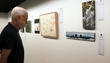Les obres estaran exposades a la Sala Grisa de Solsona fins al proper 18 de setembre.