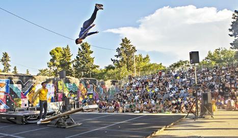 Soon Circus Company va omplir la Ciutat Reguer en la seua última actuació.
