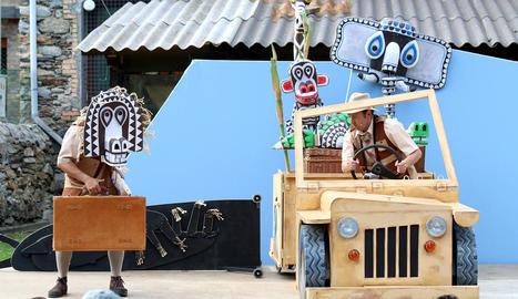 'Safari', de la companyia La Baldufa, una de les obres del festival.