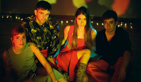 El quartet biscaí Belako presentarà el disc 'Plastic Drama'.