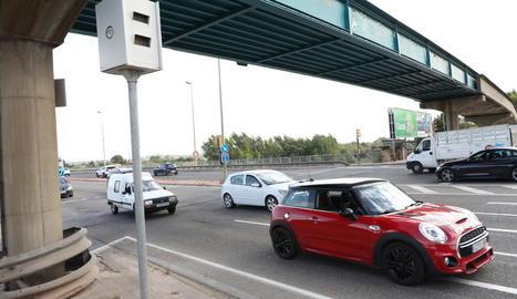 El radar del pont Nou ha detectat 1.735 infraccions.